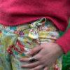antoine & lili pantalon imprimé look mode