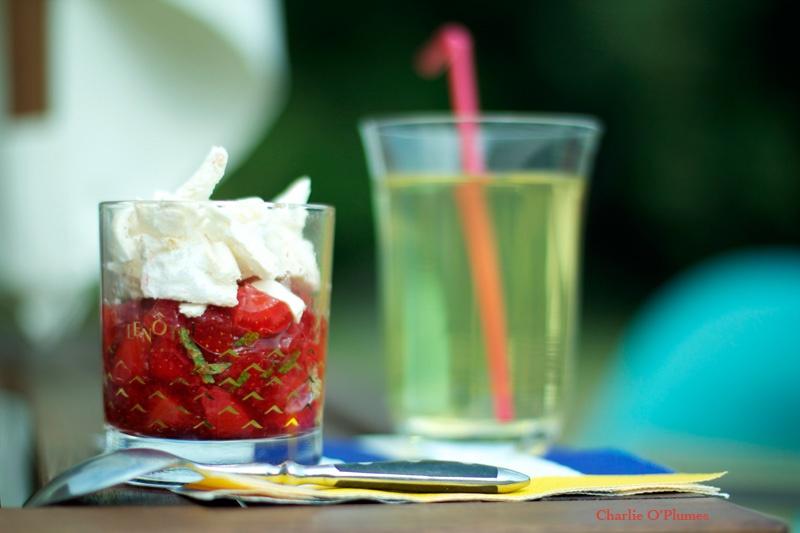 dessert fraise meringue printemps