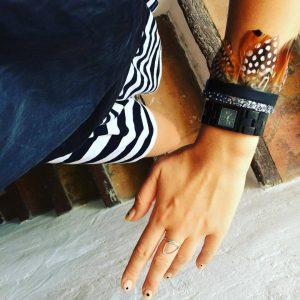 bracelet-oplumes