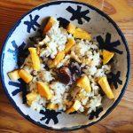 risotto automne châtaigne butternut