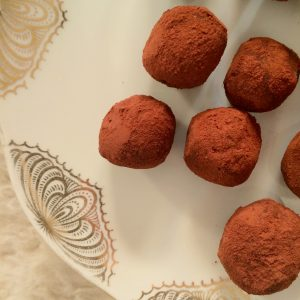 gourmandise vegan vegetalien truffe noel recette