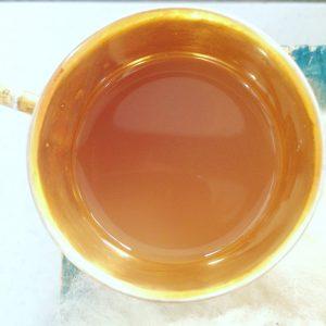 La belle couleur dorée de ce chaï...