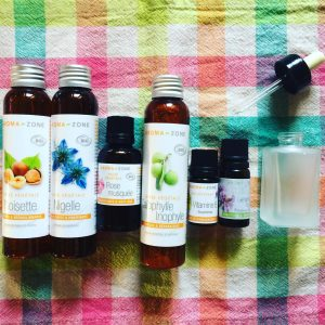 recette huile contour yeux cho diy